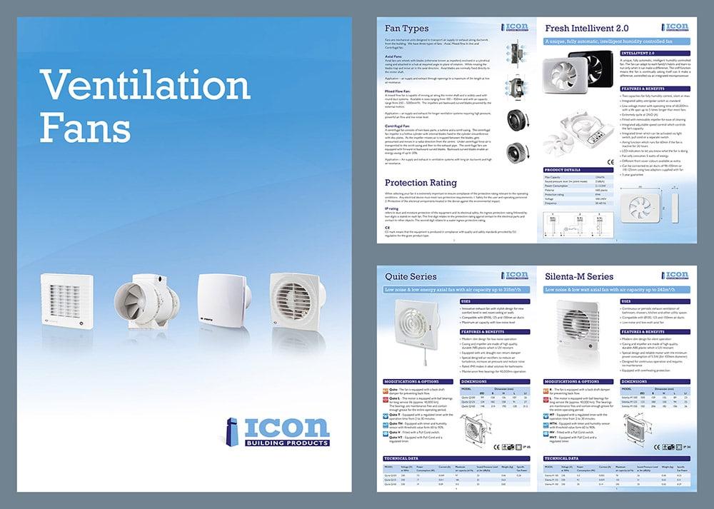Ventilation Brochure | Logic graphic design, Kildare