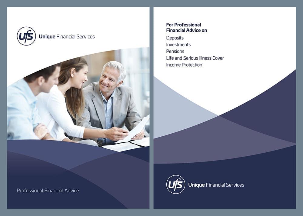 Financial Brochure | Logic graphic design, Kildare